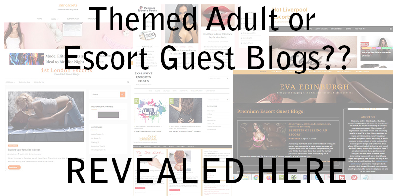 How to Find Themed Adult or Escort Guest Blogs for Your Website!